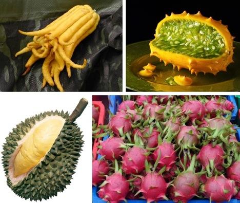удивительные фрукты