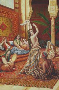 Первым европейцем, увидевшим гарем изнутри, был Фома Даллан, посланный