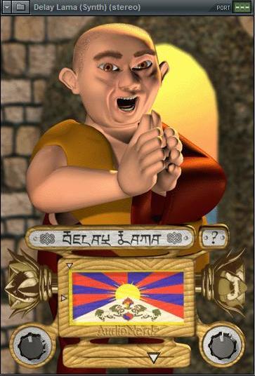 Плагин Delay Lama - голос Тибета