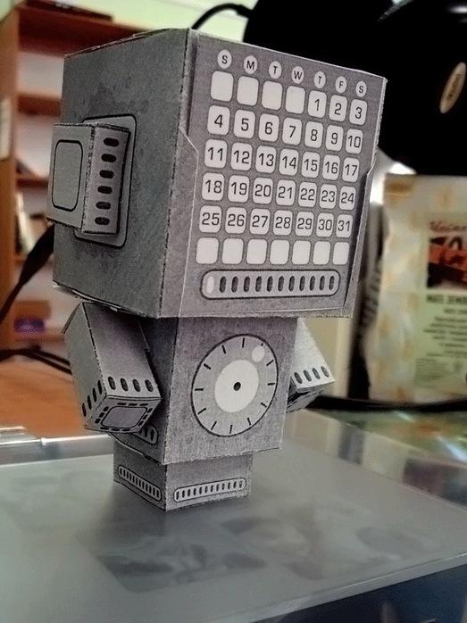 Сделай сам робот-календарь by Lilumi