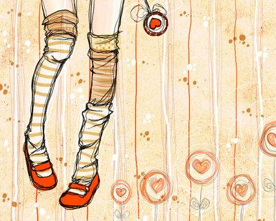 красные туфельки (400x320, 59Kb)