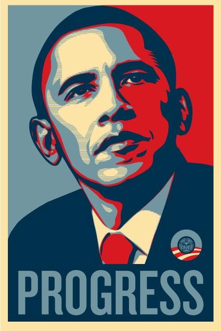 Барак Обама Плакат