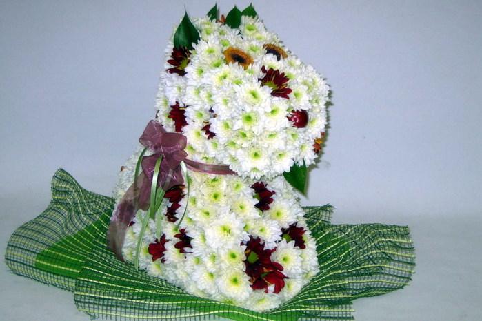 Необычные букеты цветов - Фото. Обсуждение на LiveInternet - Российский Сервис Онлайн-Дневников