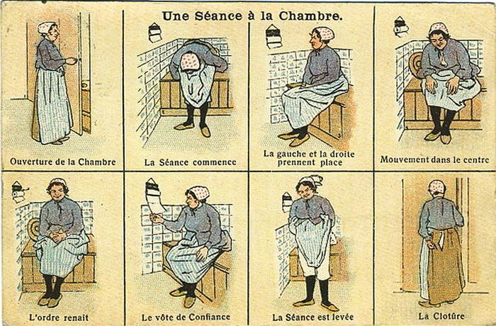 Прикольная инструкция для туалетной бумаги