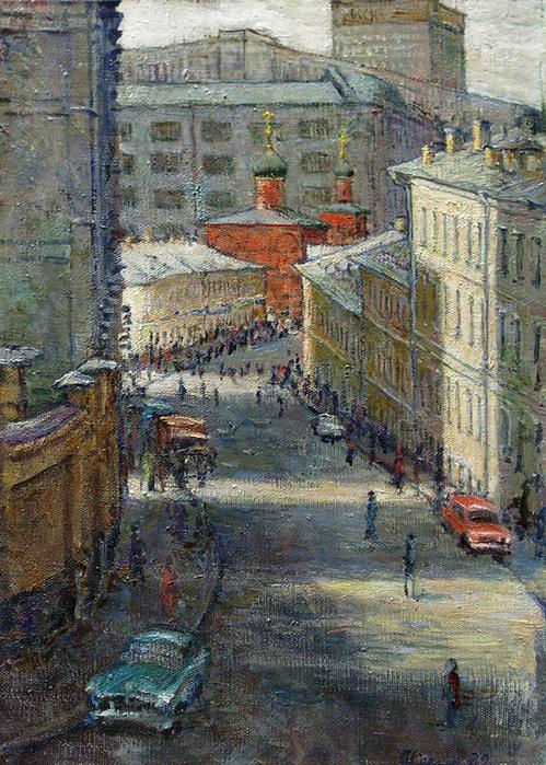 В. Качанов. Всесвятская церковь в Кулишках,1979г.