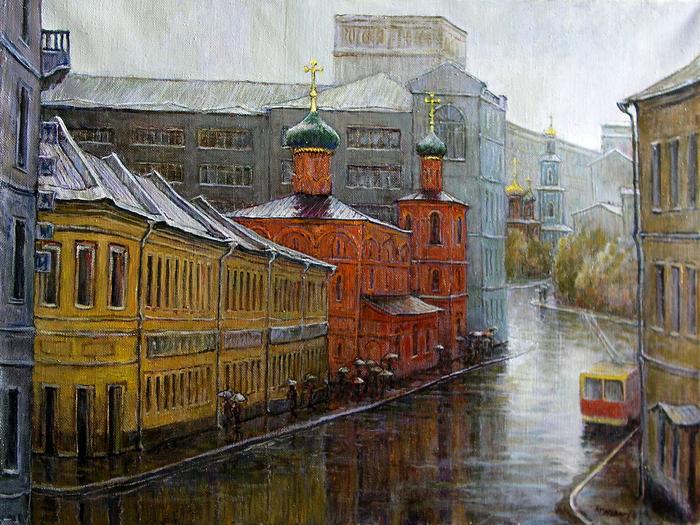 В. Качанов. Солянка, дождь, 1984 г.