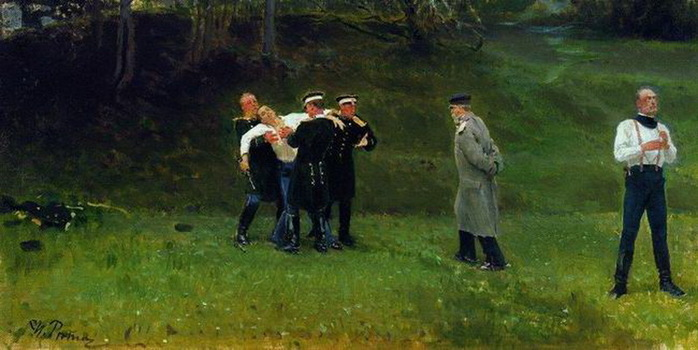 Художник И.Е.Репин - Painter Elias E. Repin