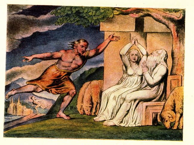 Книга Иова - иллюстрации Вильяма Блейка