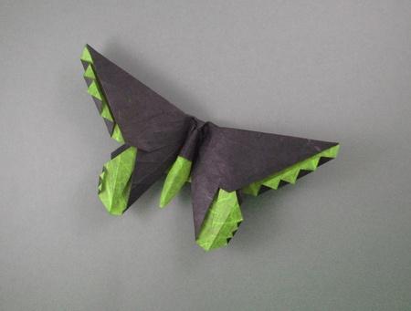 свой цитатник или сообщество!  Бабочки-оригами-арт.  Прочитать целикомВ.