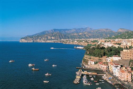 Истинная красота Неаполя - в огромном заливе