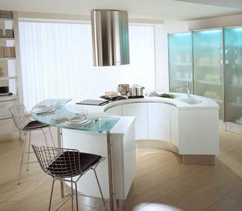 интерьер дома фото разделение кухни.
