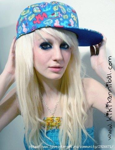 Парень эмо снял блондинку фото 451-76