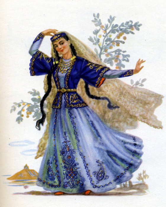 Турецкий национальный костюм