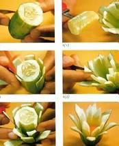 Украшения из овощей своими руками для начинающих