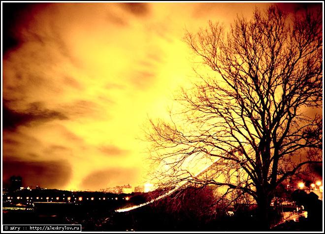 Знойная зимняя ночь