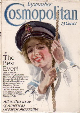 История журнала Cosmopolitan фото ретро история искусство art.