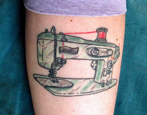 тату швейная машинка