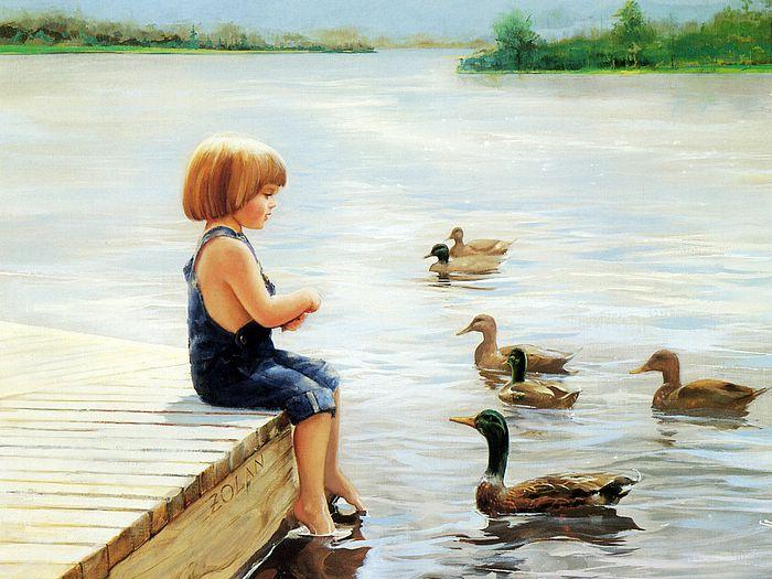 painting_children_kjb_DonaldZolan_67SummerLake_sm (700x525, 73Kb)