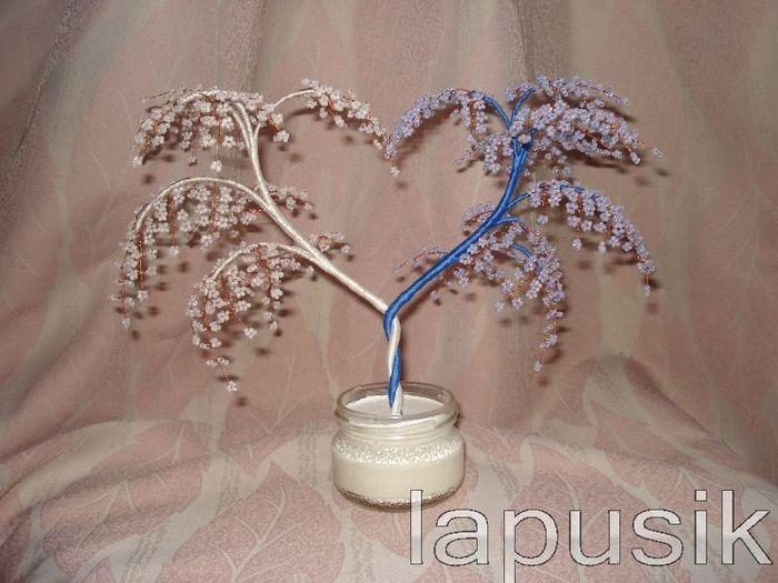 дерево любви из бисера мастер класс - Сделай сам!