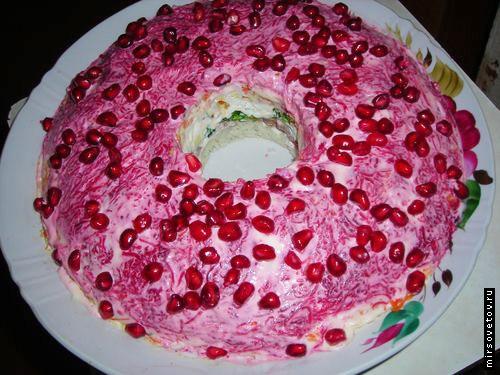 салаты на юбилей 55 лет рецепты с фото