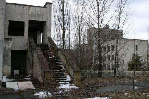 Чернобыль, оставленный город