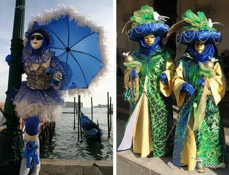 Фотографии масок, костюмов и просто персонажей со знаменитого...