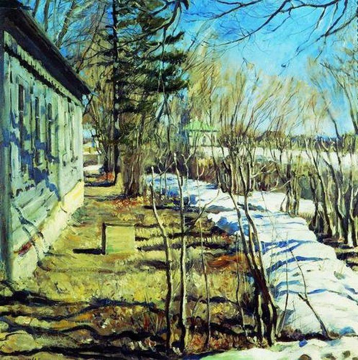 Виноградов с а весна весна идет 1911
