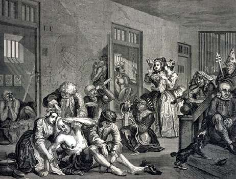 Hogarth, William A Rake's Progress