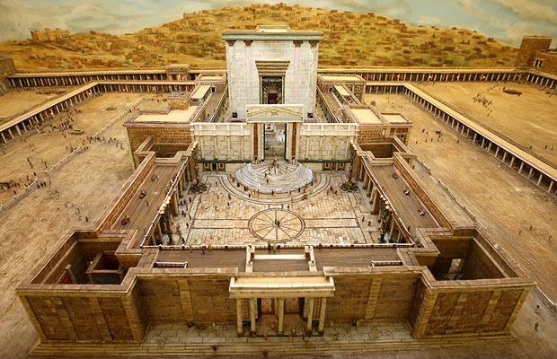 Модель храма Ирода