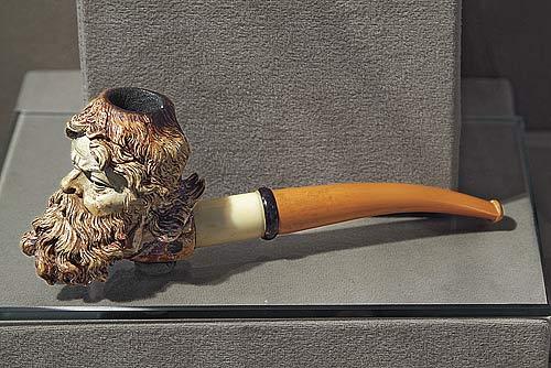 Курительная трубка из дерева своими руками