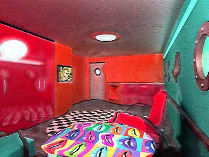 Гардеробная комната эскиз