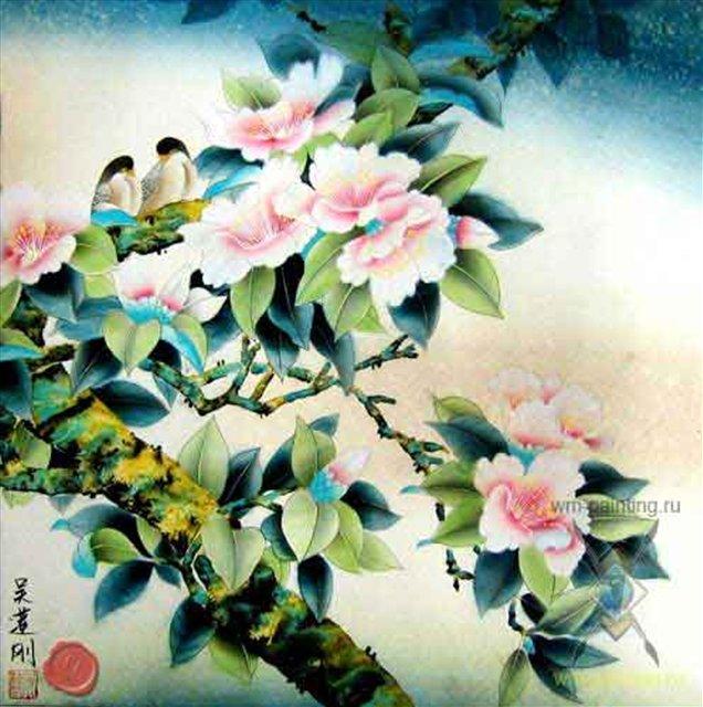 Цветные картинки о весне птицы и растения