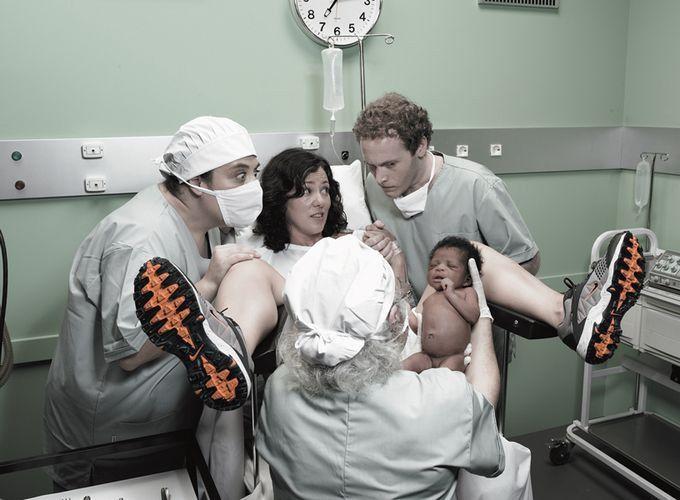 Фото девушка в больнице голая рожает 50203 фотография