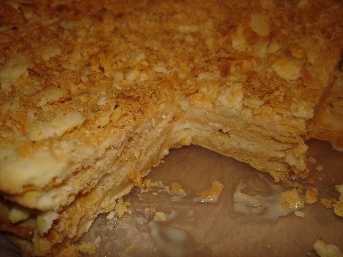 Рецепт торта Наполеон домашний