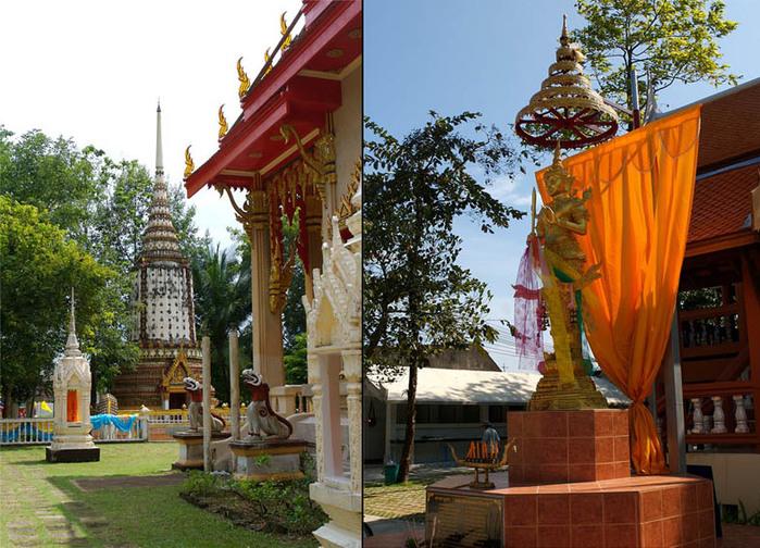 Тайланд у храма