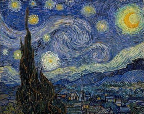 Ван Гог и цвета ночи