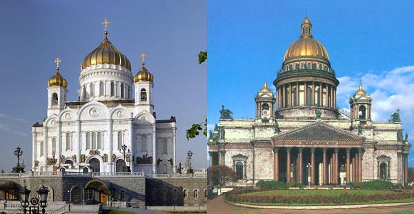 храм христа спасителя исакиевский собор
