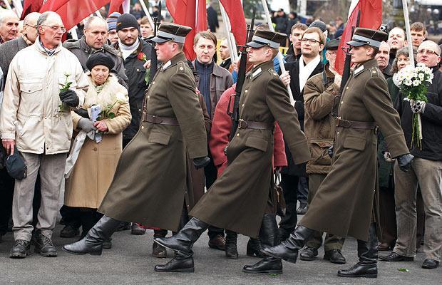 Сторонники нацистского СС