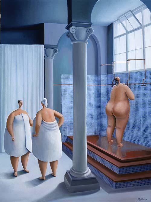 Фото толстухи в бане 13 фотография