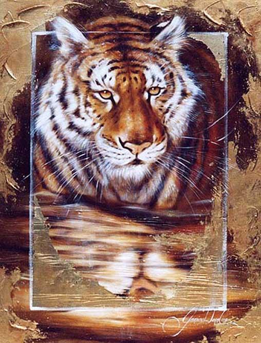 Набор для вышивания бисером арт.МК- Б067 Тигр.