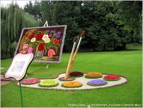 Идеи для цветника для сада дачи