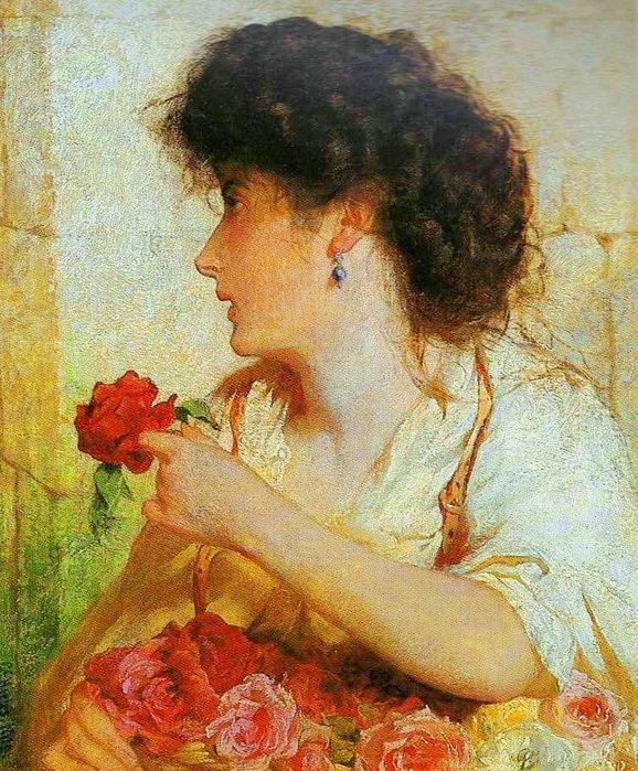 Flower in painting daum for Cafe du jardin covent garden