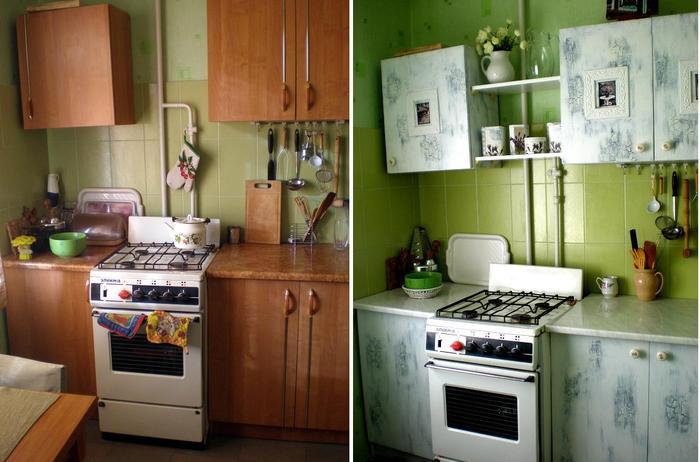 Обновить кухню своими руками с