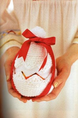 Вязанное яйцо-шкатулка .Схемы.  В предверии Пасхи тема разнообразных поделок с использованием одного из основных...
