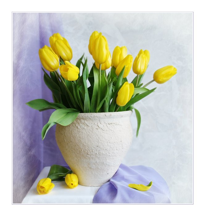 Схемка- Букет весны.