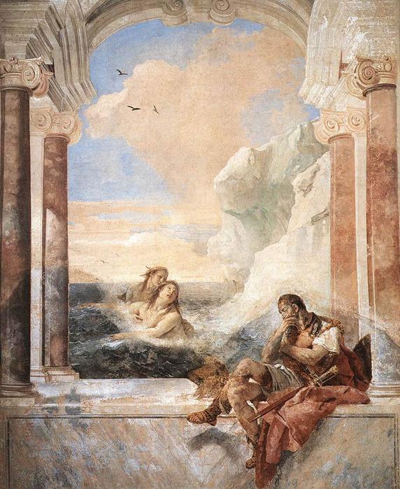агпетискуса (1780--1846) посвящена рассмотрению древнеримской и автор описывает олимпийских богов, богов моря и