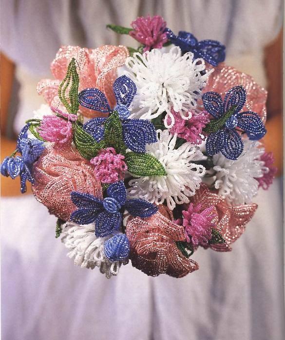 бисерные композиции цветов - Сделай сам!