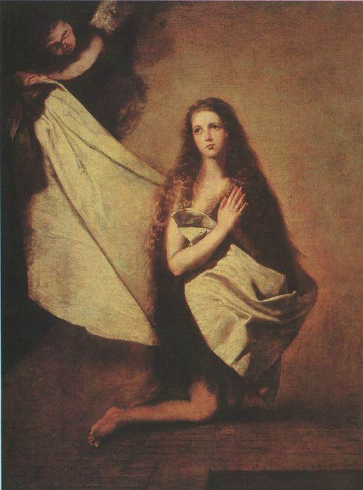Хусепе Рибера Святая Инесса и ангел укрывающий её покрывалом 1641г.  Жизнь Хусепе Риберы полна приключений...