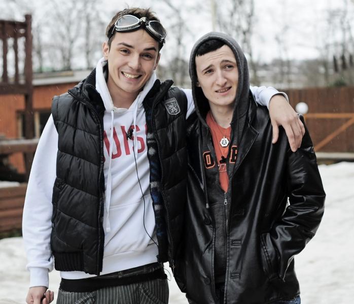 Влад Кадони и Женя Кузин.