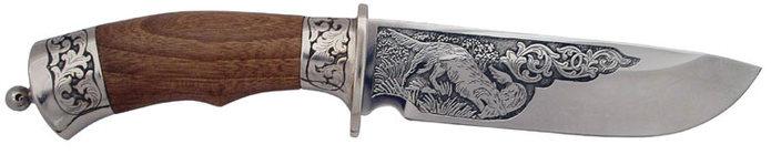 СИТИЛИНК нож с гравировкой лось в лесу златоуст малых